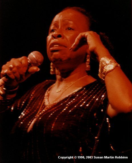 Photography By Susan Martin Robbins Betty Carter